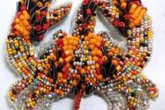Motif coloured Beads Bugles