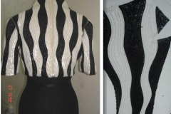 Black-and-white-sequins-beaded-Jacket