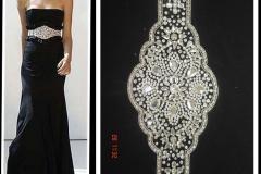 Silver-stones-beaded-Belts-on-black-dress