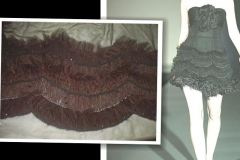 net-fabric-with-bead-work-feathers-short-skirt